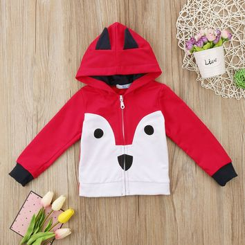 Cute Newborn Toddler Baby Kids Boys Girls Tops Hoodies Clothes Jackets Coat Outerwear
