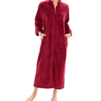 Softies by Paddi Murphy 5014-80 Sherpa Zip Robe