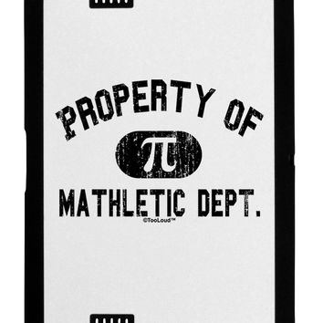 Mathletic Department Distressed Black Jazz Kindle Fire HD Cover by TooLoud