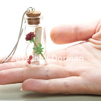 Message in a bottle  Valentine's Day gift / by InaQuillingOrchard