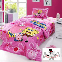 Spongebob Square Pants Bedding Set and Quilt Cover