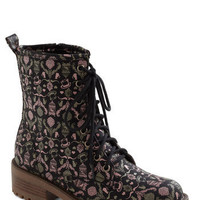 Fanciful Footwork Boot | Mod Retro Vintage Boots | ModCloth.com