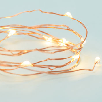 Vintage Yellow String Lights