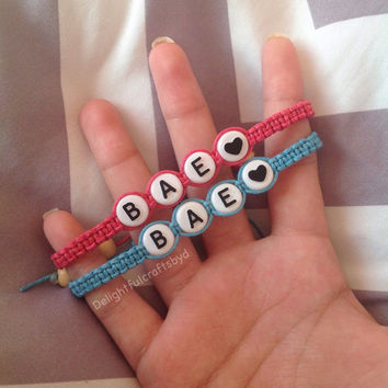 Bae couples hemp bracelets