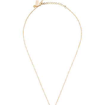 Kate Spade Dainty Sparklers Pave Elephant Pendant Clear ONE