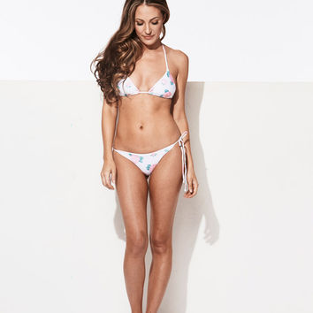 CHLOÉ ROSE BARELY THERE BIKINI TOP