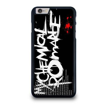 my chemical romance lyric iphone 6 6s plus case cover  number 1