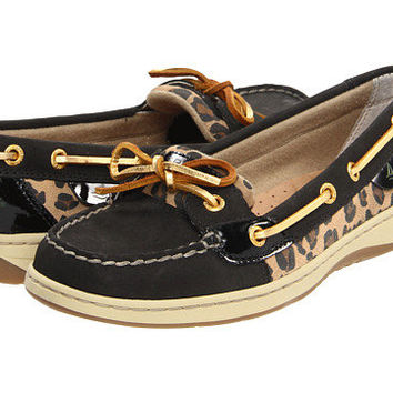Sperry Top-Sider Angelfish Black Leopard - Zappos.com Free Shipping BOTH Ways