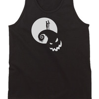 Nightmare Before Christmas Jack Moon Mens Tank Top