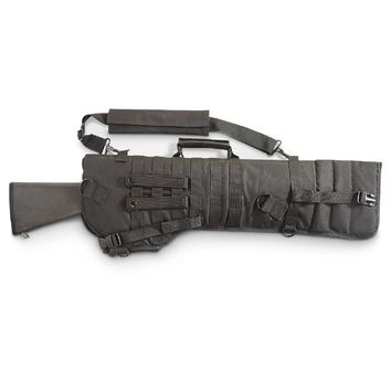 Long Gun Protection Carrier Tactical Rifle Scabbard Army Military Holster Assault Shotgun Rifle Hunting Bag Army Pouch Case