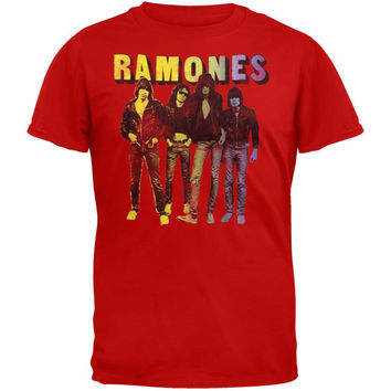 Ramones - Split Fountain T-Shirt