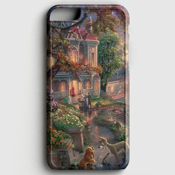 Lady And The Tramp Disney iPhone 8 Case