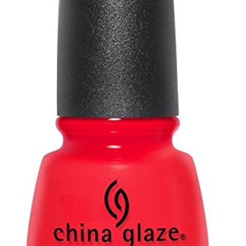 China Glaze Desert Escape Nail Polish, The Heat Is On, 0.5 Fluid Ounce
