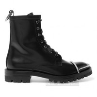 Indie Designs Alexander Wang Inspired Metal Toe Cap Lyndon Boots