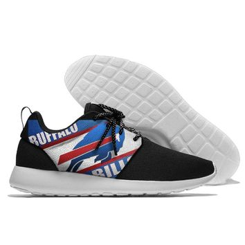Running Shoes Lace Up Sport Shoes confortable Bills Jogging Walking Athletic Shoes light weight from Buffalo new style