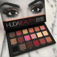 Huda Beauty 18 COLORS matte&pearl eye shadows