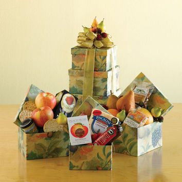 Fruity Fresh Orchard Gift Tower