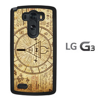 Gravity Falls Bill Z0187 LG G3 Case