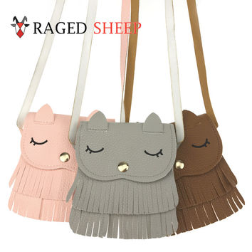 Raged Sheep Grils Small Coin Purse Change Tassels Wallet Kids Monederos Infantiles Bourse Monnaie Petite Taille Porte Monnaie