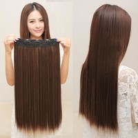Clip in hair extensions Hair Extensions straight hair extensions women = 5658527425