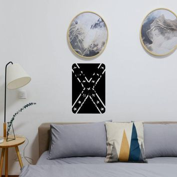 Confederate #2 Sign Vinyl Wall Decal - Removable (Indoor)