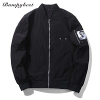 Men Jacket Pilot Air Force Male Thin Army Green Military motorcycle Jackets Coats