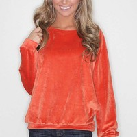 piko softest sweatshirt - orange - Riffraff