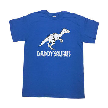 Daddysaurus T-Shirt Daddy Shirt Fathers Day Gift TShirt New Dad Papa Gift For Dad Father Funny Humor Cool Mens Tee - SA255