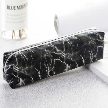 Marble Pattern Pencil Case