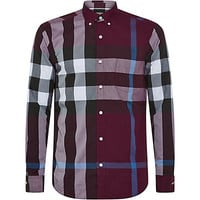 Burberry Brit Long Sleeve Mega Check Shirt