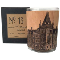 1920's French Market Candle No. 18