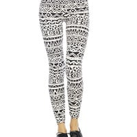 Aztec Stripe Legging | Wet Seal