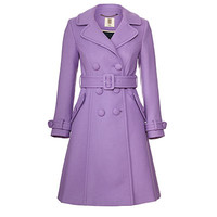 Orla Kiely - Wool Twill Trench Coat