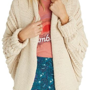 Billabong Icy Sands Cocoon Cardigan | Nordstrom