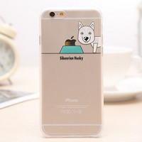 Cute Funny Dog iPhone 5s 6 6s Plus creative case Gift-99