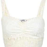 Petites Lace Bra Top - Tops  - Apparel