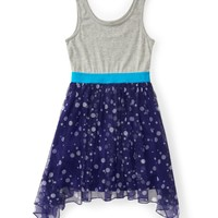 Kids' Polka Dot Mesh Tank Dress - PS From Aeropostale