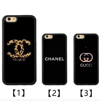 CHANEL GUCCI Print iPhone Phone Cover Case For iphone 6 6s 6plus 6s-plus 7 7plus