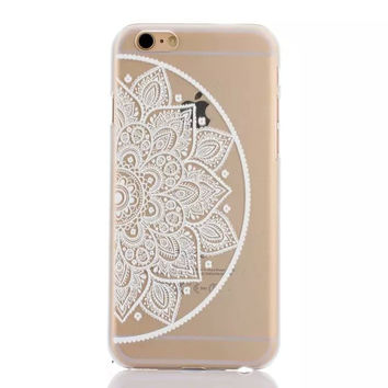 Vintage Lace Mandala Floral iPhone 6 6s Plus Case Cover Free Shipping