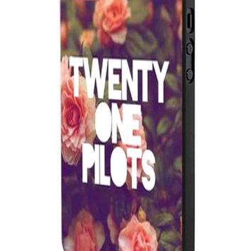 Twenty One Pilots Vintage Logo iPhone 5 Case Hardplastic Frame Black Fit For iPhone 5 and iPhone 5s