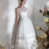 Sweetheart Neckline Sash Bow Satin Papilio Wedding Dress PWD160 -Shop offer 2012 wedding dresses,prom dresses,party dresses for girls on sale. #Category#