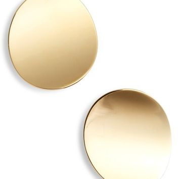 kate spade new york gold standard statement stud earrings | Nordstrom