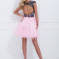 Tony Bowls Shorts Dress TS11465 at Prom Dress Shop