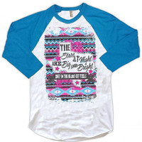 Stars at Night Raglan