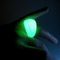Glow in the Dark Bubble Resin Ring by zougeebean on Etsy