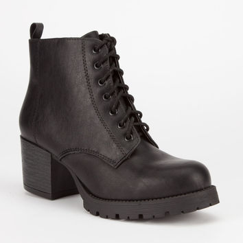 SODA Nevitt Womens Military Boots 241605100 | 90's Muse