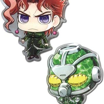 Kakyoin & Heirophant Green - Pin Set - Jojo's Bizarre Adventure