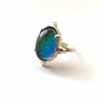 Vintage Cosmic Mood Ring
