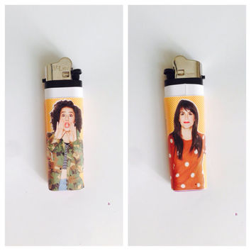 BROAD CITY Lighter with Abbi and Ilana on front and back cheap