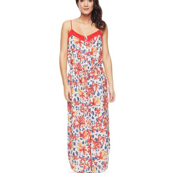 Island Leopard Silk Maxi Dress by Juicy Couture